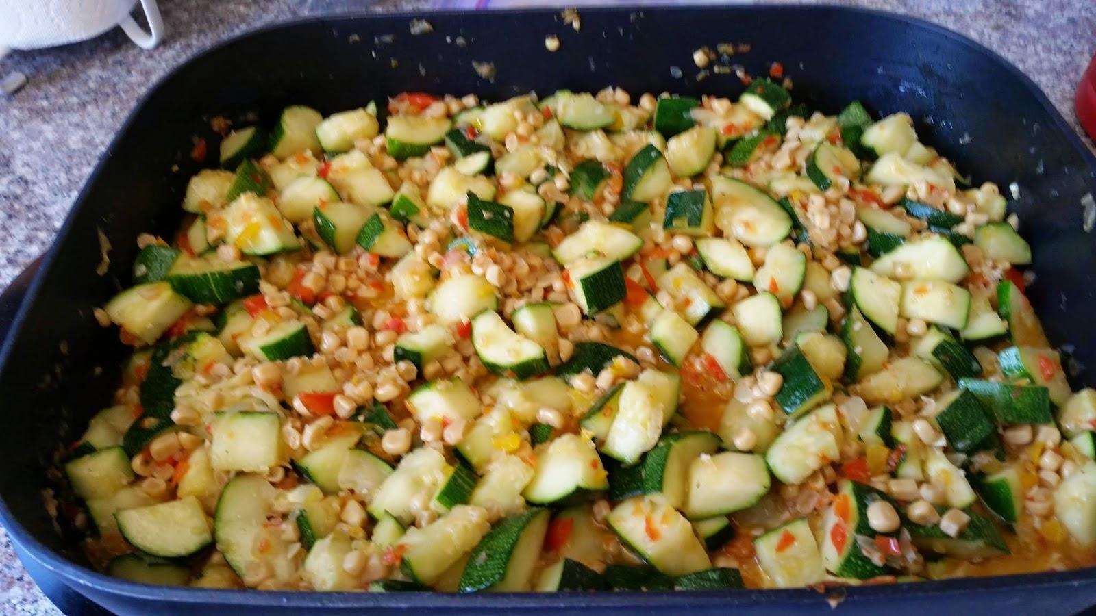 Michelle's Little Piece Of Heaven: Zucchini and Corn Saute