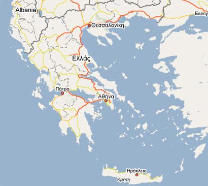 χαρτεσ google TechNews the e magazine: Καλύτεροι χάρτες της Ελλάδας στο  χαρτεσ google