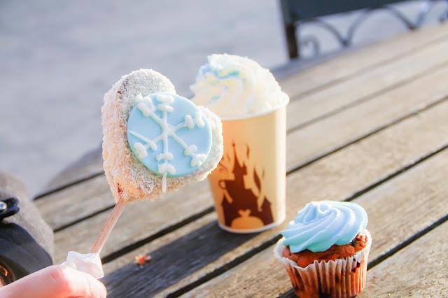 popcake, cupcake et chocolat viennois Reine des Neiges