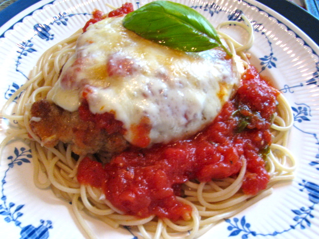 Ritas Recipes A New Chicken Parmesan