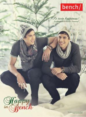 Semerad twins photo for Bench