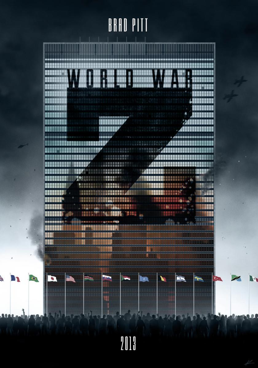 Guerra mundial Z (2013) Online Latino