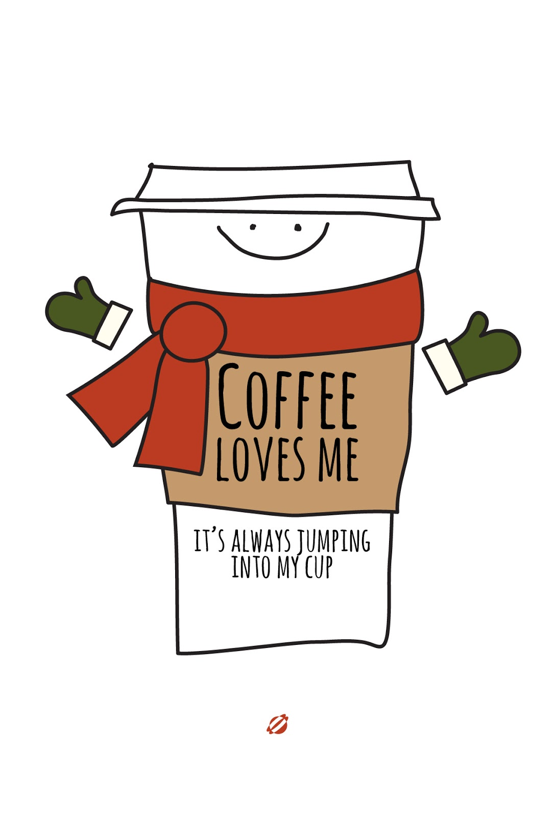 LostBumblebee 2013 Free Printable Coffee LOVES ME!