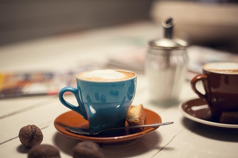 Bild Kaffee Cappuchino