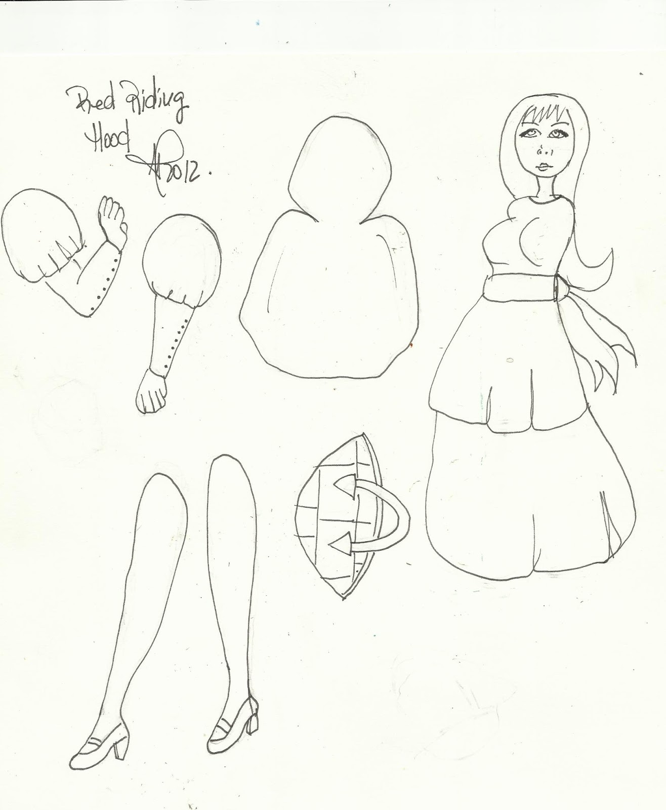 Free Paper Dolls Templates | ART DOLLS PAPER & OTHER ARTSY ONES