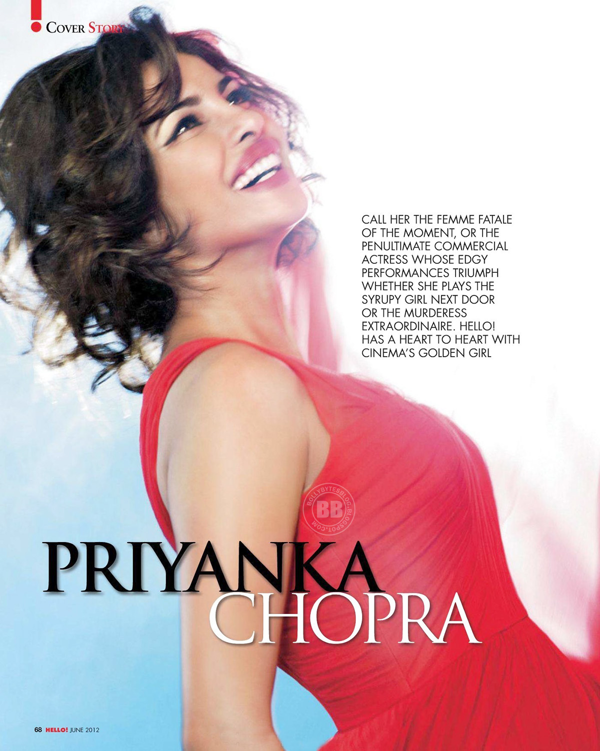 Priyanka Chopra S Hot Hd Photoshoot For Hello India June 2012