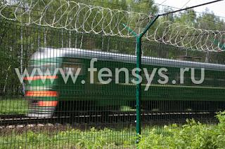 Забор металлический сварной Fensys. Фото 12