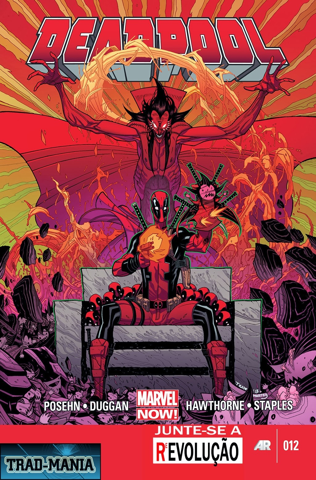 Nova Marvel! Deadpool v5 #12