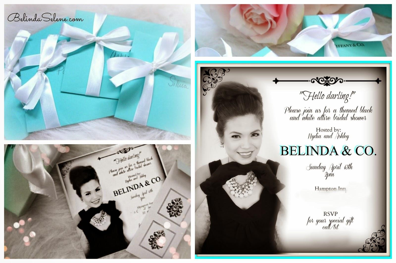 BelindaSelene: Tiffany And Co. Bridal Shower