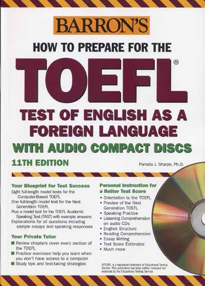 Collection of Preparing for TOFEL