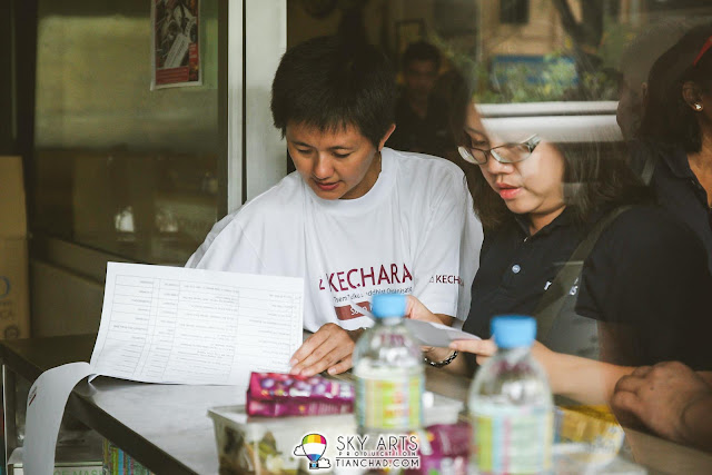 Arranging household to visit at Kechara Soup Kitchen located at Jalan barat
