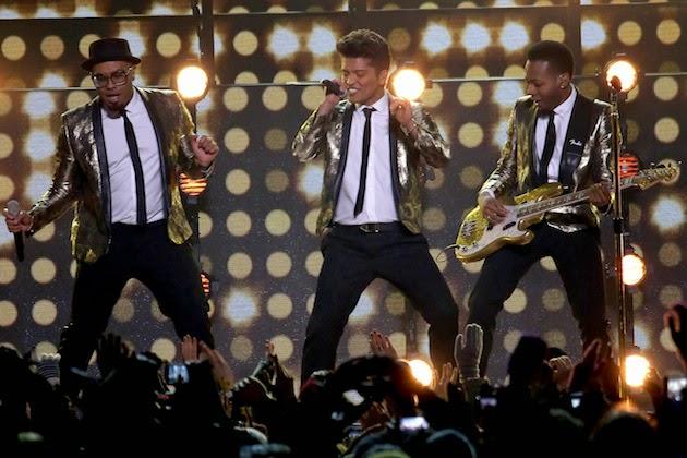 Halftime show at Super Bowl : Bruno Mars