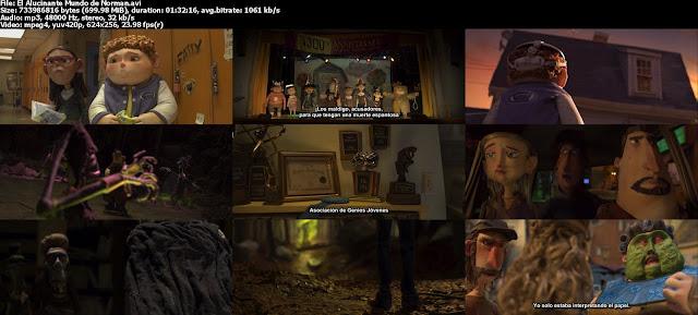 El+Alucinante+Mundo+de+Norman s El Alucinante Mundo de Norman [2012] [DvdRip] [Subtitulado] [Animación]