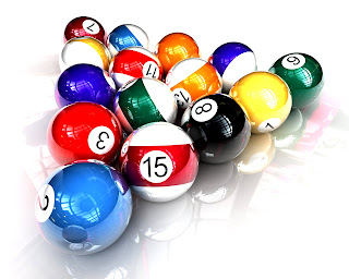 Billiard Balls HD Wallpaper