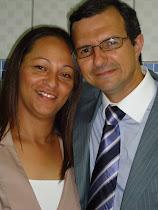 Pr. Ezequiel Barbosa e esposa irmã Guga