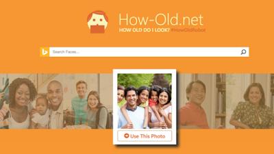 برنامج How-Old للتعرّف على عمر المستخدم من خلال الصور