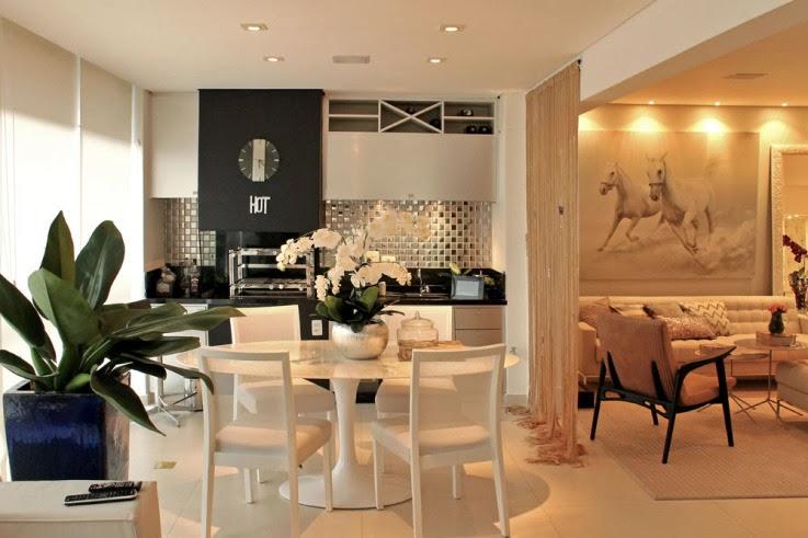 Sala De Jantar Gourmet ~  de apartamentos ou se for o caso, sacadas posteriores de casas
