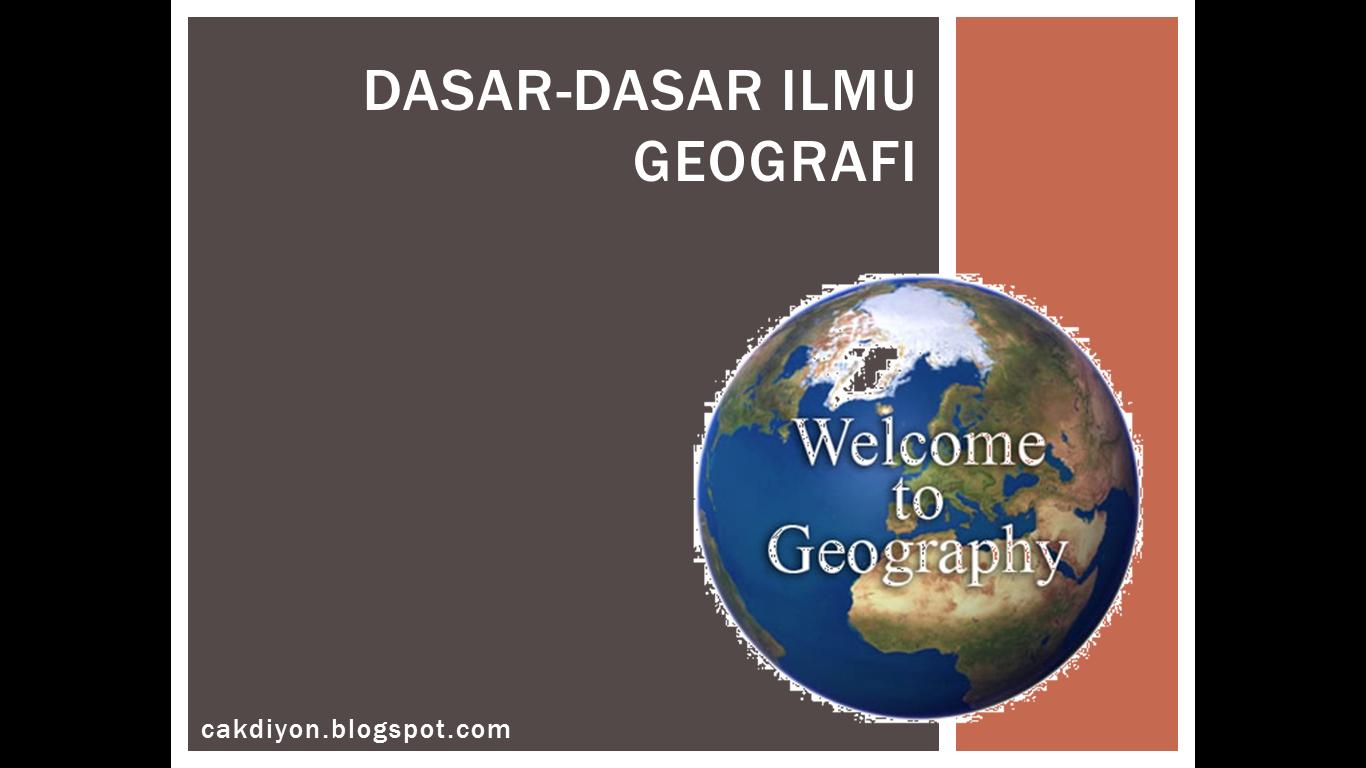 Bahan Ajar Ips Smp Dasar Dasar Ilmu Geografi