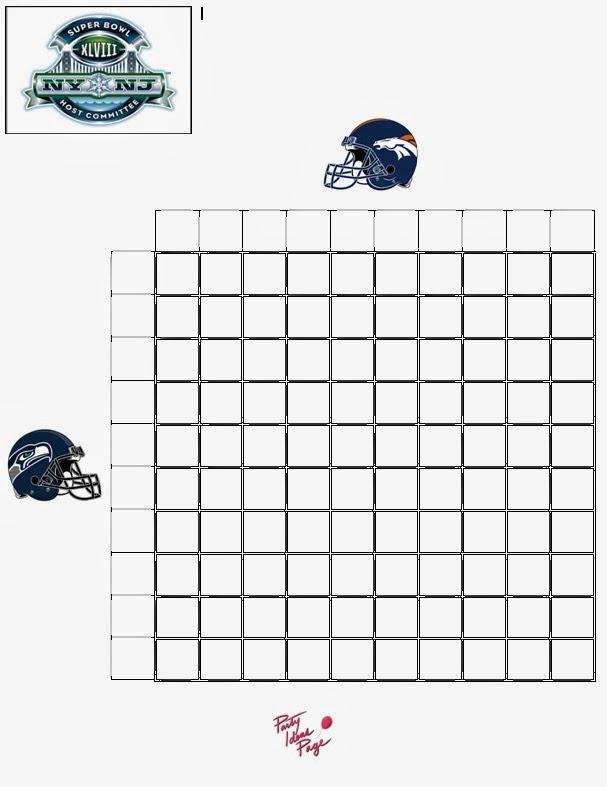 Super Bowl Squares 2014 Of the super bowl squares