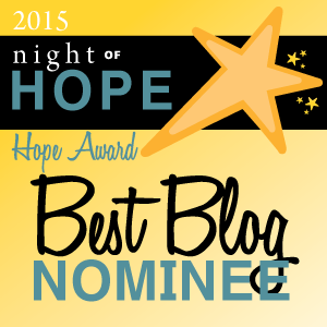 Hope Award Nomination