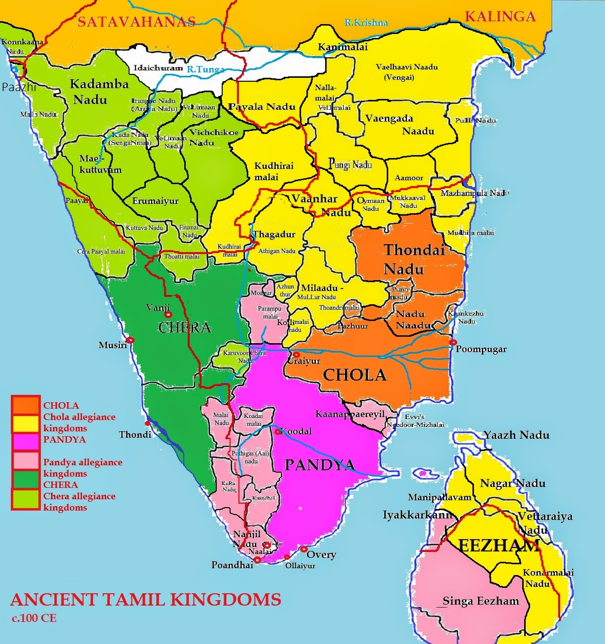 Ancient tamil kinglines the glorious tamil kalabhras and the first myth they were barbaarians who brought in the dark ages in ancient tamil countries gumiabroncs Images
