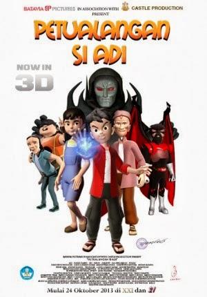 Film Petualangan si ADI 2013 di Bioskop