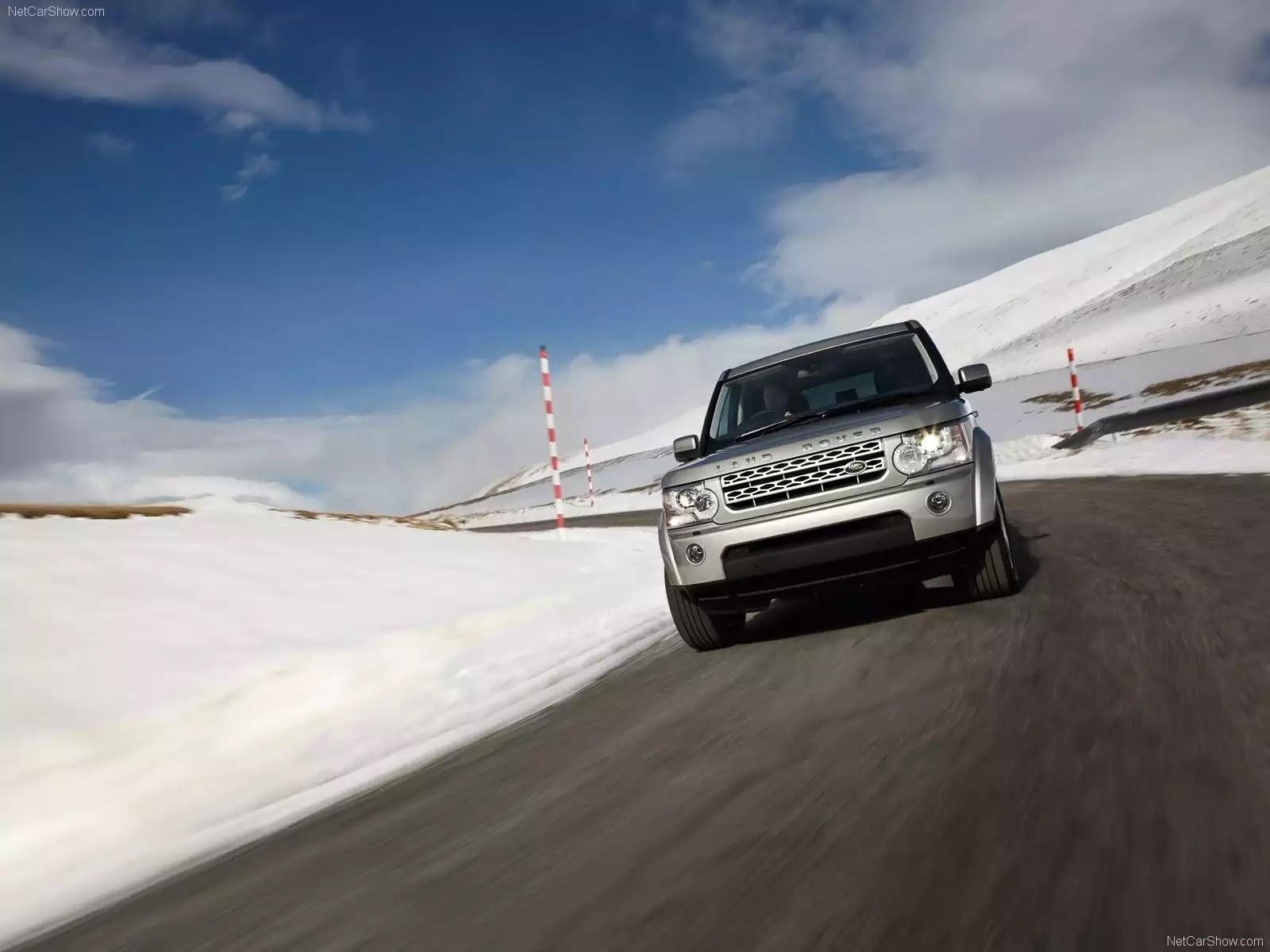 Hình ảnh xe ô tô Land Rover Discovery 4 2010 & nội ngoại thất
