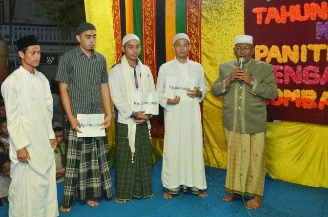pemenang juara hafal Bait Alfiyah Ibn Malik