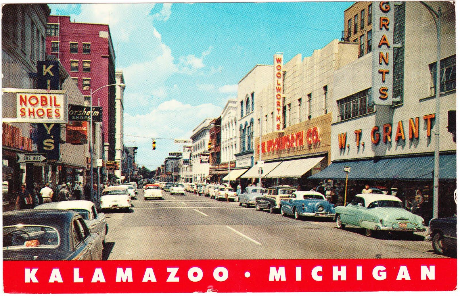 Barber Shop Kalamazoo : ... stuff to look at in this vintage snapshot of Kalamazoo, Michigan . 3