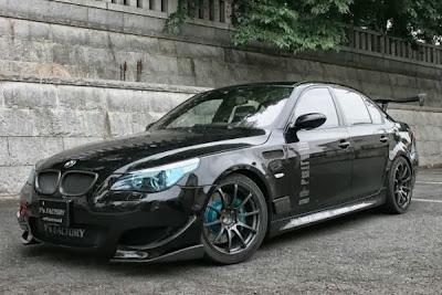 list mobil: modifikasi mobil bmw mewah dan modis