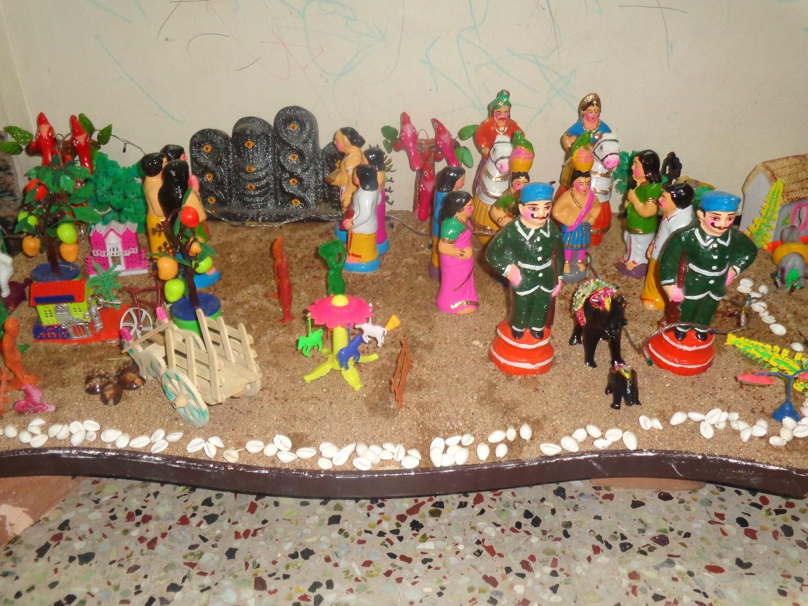 Golu Decoration Tips Navarathiri Gollu Ideas Tips Home Style Veg Food