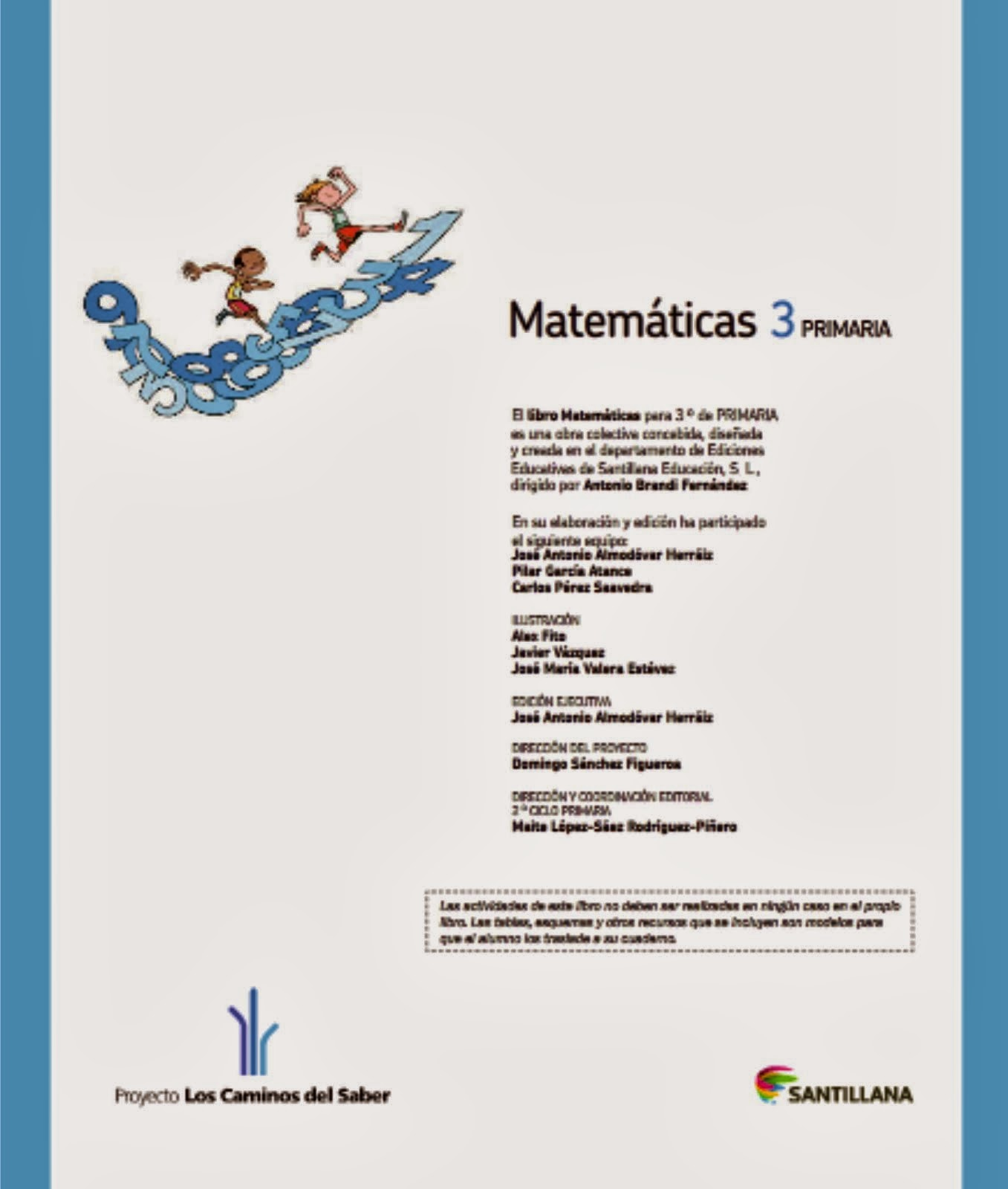 Matemáticas 3º SANTILLANA DIGITAL