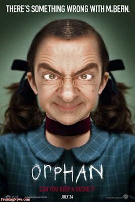 Funny Wallpaper Mr Bean orphan