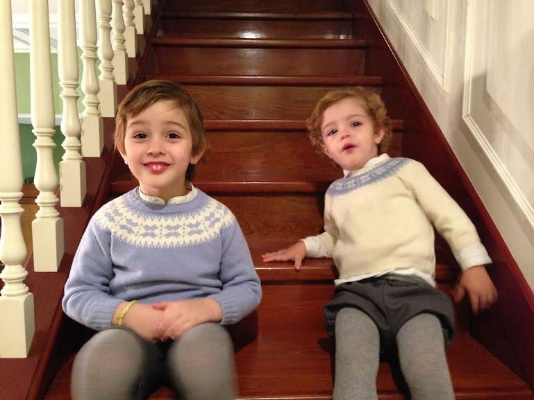 Vestir niños coordinados
