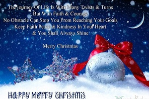 happy merry christmas picture messages