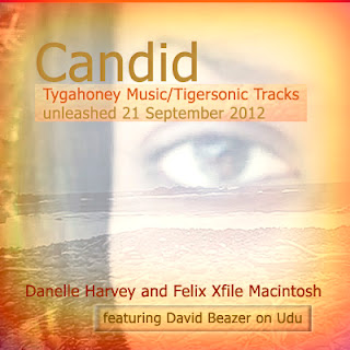 """Candid"" single  Artwork"