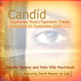 """Candid"" single  Artwork"