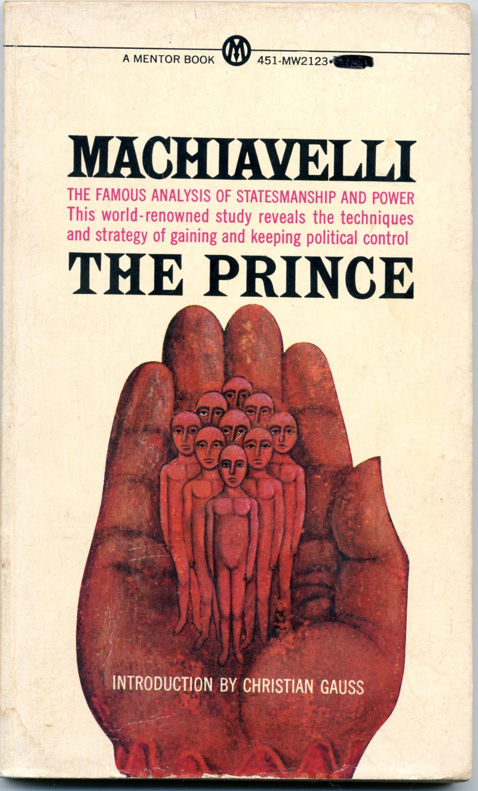 "essay on the prince machiavelli Essay on Machiavelli's ""The Prince"""