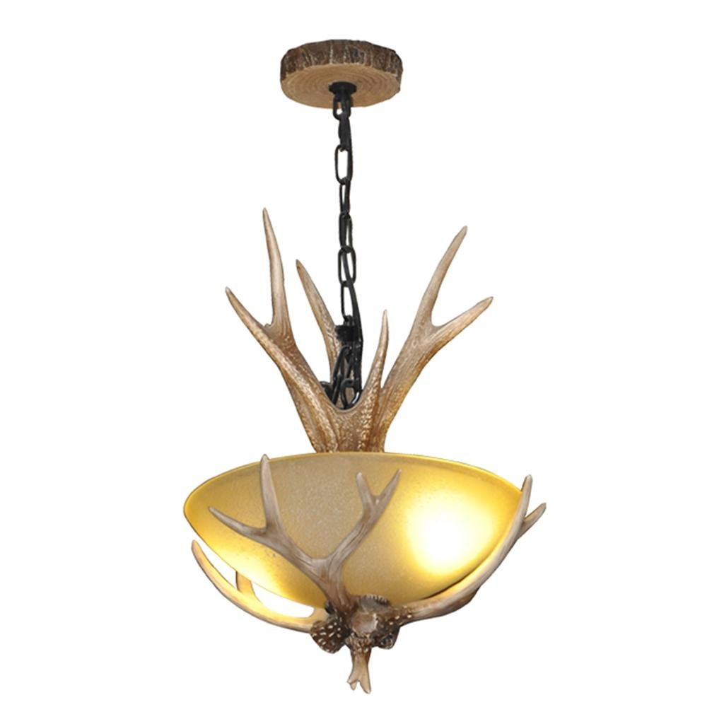 Deer Antler Ceiling Light Fixtures