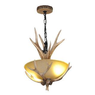 deer antler light fixtures fabulous antler replica lighting options. Black Bedroom Furniture Sets. Home Design Ideas