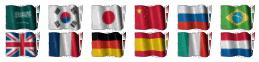 Google Flag Translate Widget For Blogger Blogspot 04