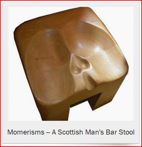 Momerisms A Scottish Man's Bar Stool