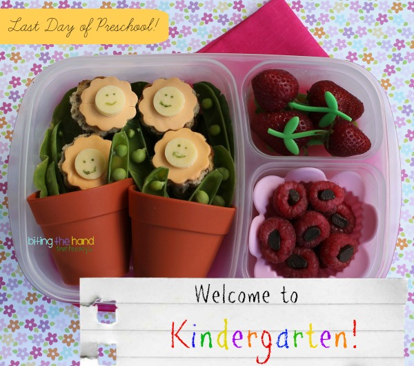 "Welcome to Kindergarten ""Child's Garden"" Lunch"