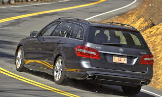 2011 Mercedes-Benz E350 4Matic Wagon Rear View