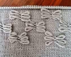 вязание. узор бабочка
