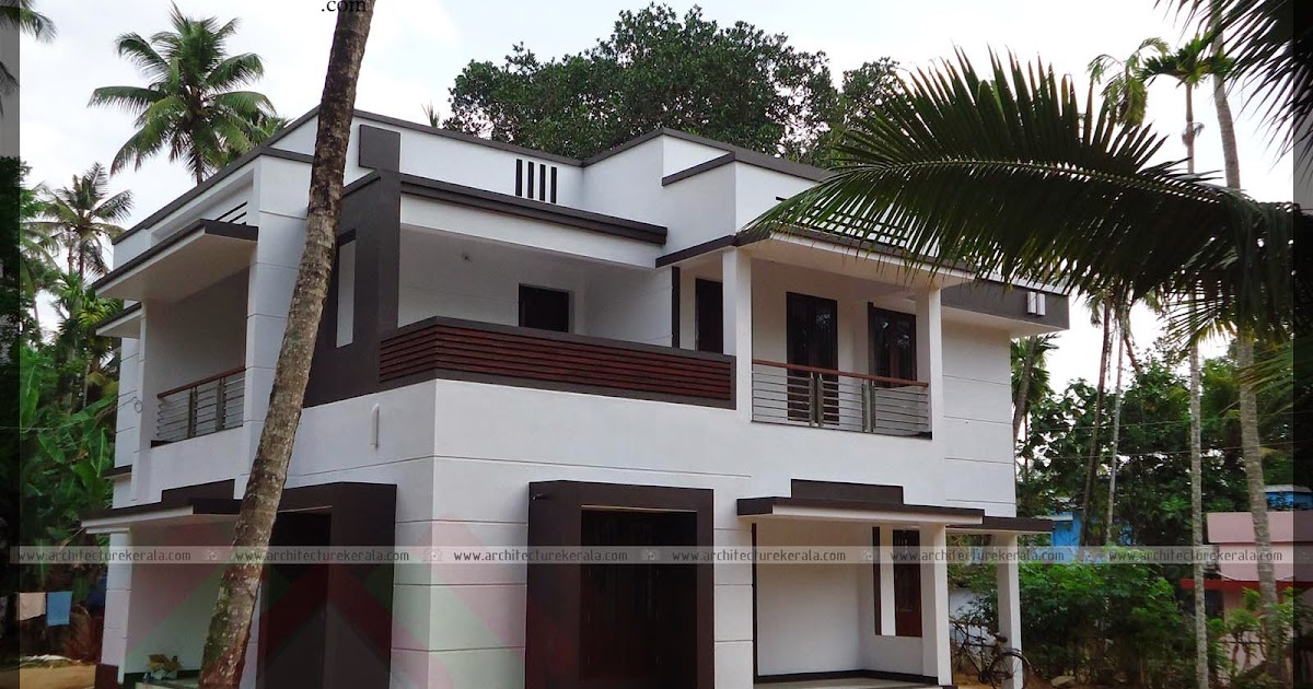 Photo of an contemporary style house architecture kerala for The space scape architects thrissur kerala
