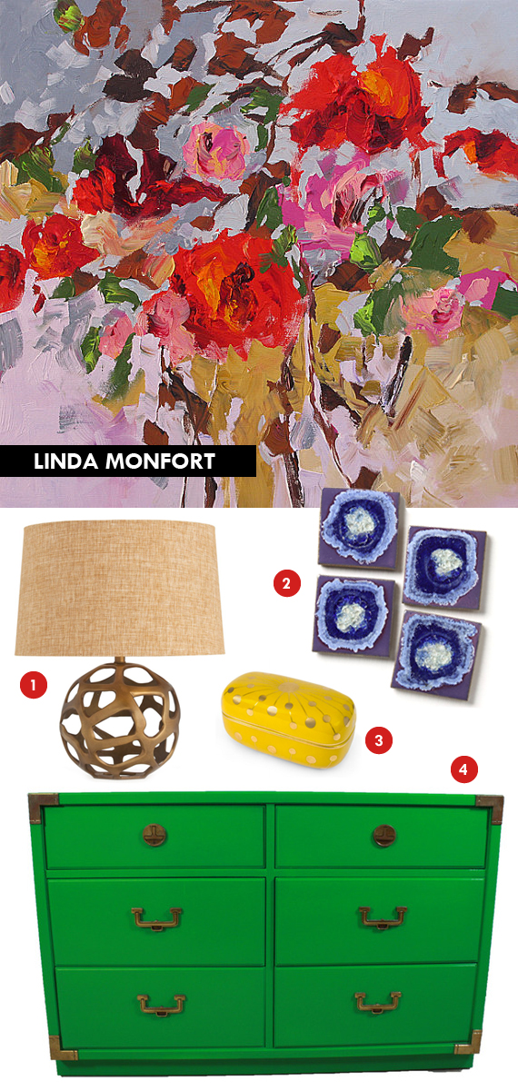 mimiandmegblog.com : ART INSPIRED: Linda Monfort