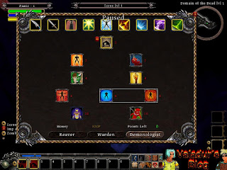Screenshot of a talent tree of the Demon Hunter class.