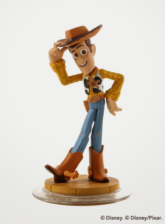 TOYS : JUGUETES - DISNEY Infinity  Muñeco | Figura Woody : Toy Story  Producto Oficial | Videojuegos | A partir de 7 años  Nintendo Wii U, PlayStation 3, Xbox 360