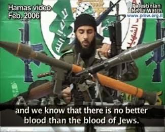 """Hamas: """"E sappiamo che non c'è sangue migliore di quello degli Ebrei."""""""